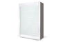 Persiana Cristal Blanco Glass Milano